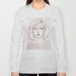 Debbie Harry from Andy Warhol famous picture Long Sleeve T-shirt