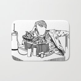 The Wizard of Menlo Park Bath Mat