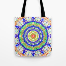 12 star mandala clock / phone cover Tote Bag