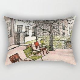 In Brussels Rectangular Pillow
