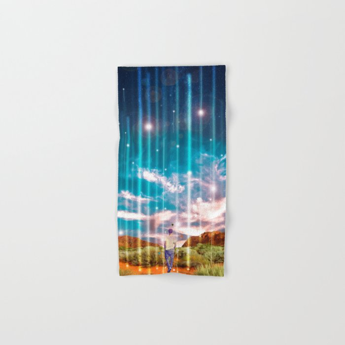 TRAVELLING LIGHTS Hand & Bath Towel