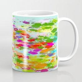 Paint Splattered Sky Coffee Mug