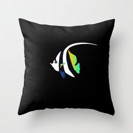 tropical fish 11 Throw Pillow