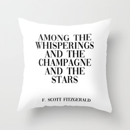among the whisperings Throw Pillow