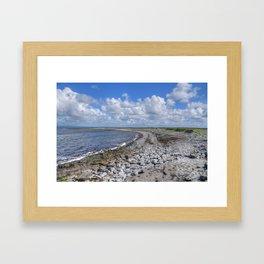 Aran Islands Coastline Framed Art Print