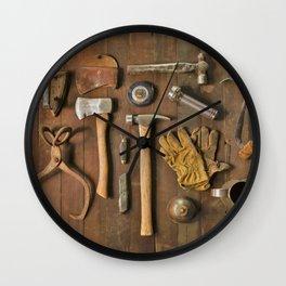 Tools (Color) Wall Clock