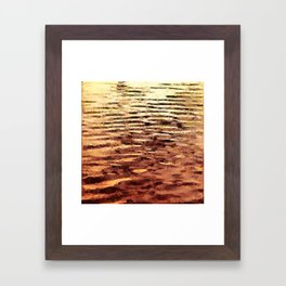 waves#3 Framed Art Print