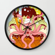 Suspended in Gaffa Wall Clock