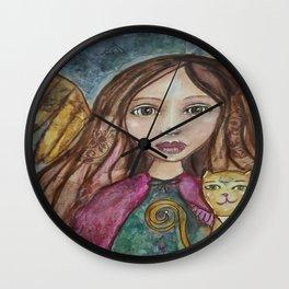 Spirit Traveler  Wall Clock