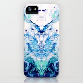 Okul - Abstract Costellation Painting iPhone Case