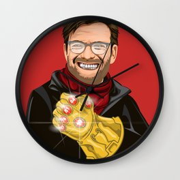 Lets talk about six, baby! Wall Clock
