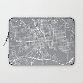 Baltimore Map, Maryland USA - Pewter Laptop Sleeve
