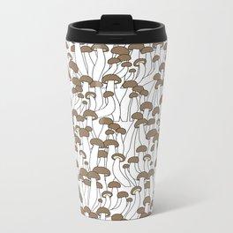 Beech Mushrooms Metal Travel Mug