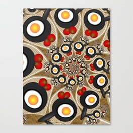 Brunch, Fractal Art Fantasy Canvas Print