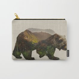 North American Brown Bear Carry-All Pouch