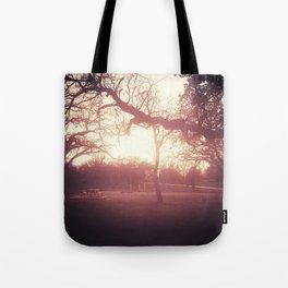 Sunset Picnic Tote Bag