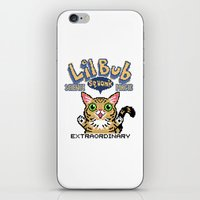lil bub iPhone & iPod Skins featuring Lil Bub - Special Edition by Paper Tiki