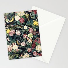 Floral and Birds IV Stationery Cards