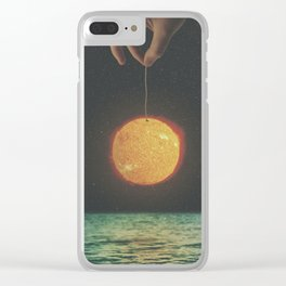 Greenhouse Effect Clear iPhone Case