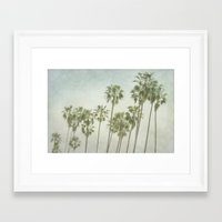 palm trees Framed Art Prints featuring Palm Trees by Pure Nature Photos