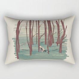 Andrei Tarkovski´s The Sacrifice Illustration Rectangular Pillow
