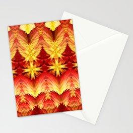 Emergence of Flame Mandala Stationery Cards