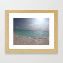 Pure Paradise Framed Art Print