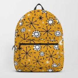 Mid Century mustard Backpack