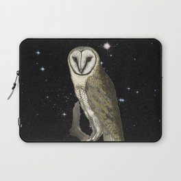Owl in the Universe Laptop Sleeve