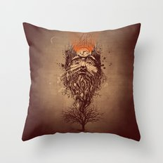 Human Nature Throw Pillow