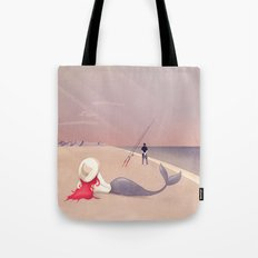 Keep Fishing Tote Bag
