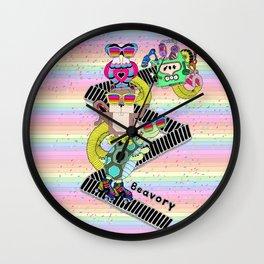 Colorful memories Wall Clock