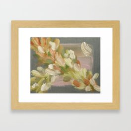 Feather Stream - Original Fine Art Print by Cariña Booyens Framed Art Print