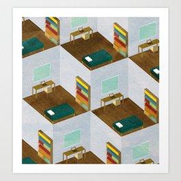 Repetitive Days II Art Print