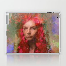 petals Lady Laptop & iPad Skin