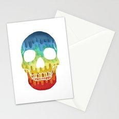 Paper Skull Stationery Cards