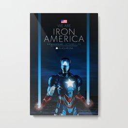 IRON AMERICA 9/11 Metal Print