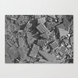 Broken Bricks Canvas Print