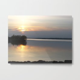 Sunset, Lough Derg - Ireland Metal Print