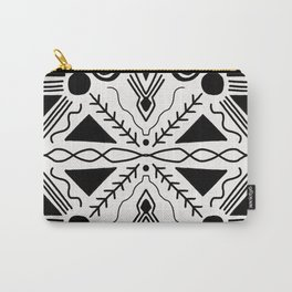 high desert, black & white Carry-All Pouch