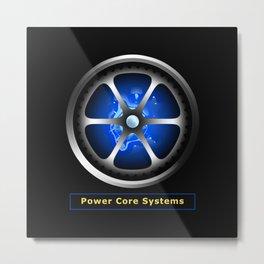 Power core Metal Print