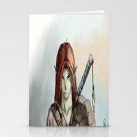 elf Stationery Cards featuring Elf by Robert Adam Sharp