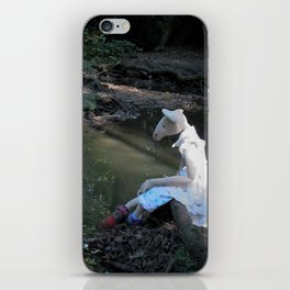Miss Mouse by the Stream iPhone Skin