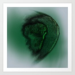 Afrique Art Print