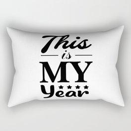 This is my year #society6 #decor #buyart #artprint Rectangular Pillow