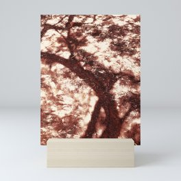African Shadow Tree 2 Mini Art Print