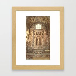 The Madona Framed Art Print