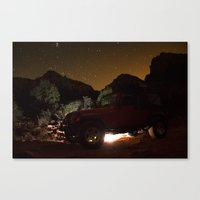 jeep Canvas Prints featuring Jeep by SachelleJuliaPhotography