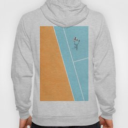 Tennis Court Colors  Hoody