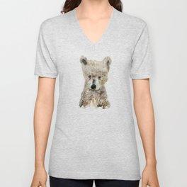 little wolf Unisex V-Neck